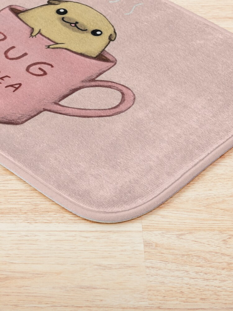 Alternate view of Pug of Tea Bath Mat