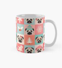 Christmas Pugs - Pastel  Mug
