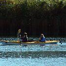 Kayaking by Oceanna Solloway