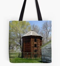 The old silo Tote Bag