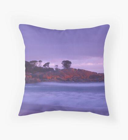 Binalong Bay at dawn Throw Pillow