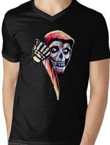 The Halloween Fiend Mens V-Neck T-Shirt