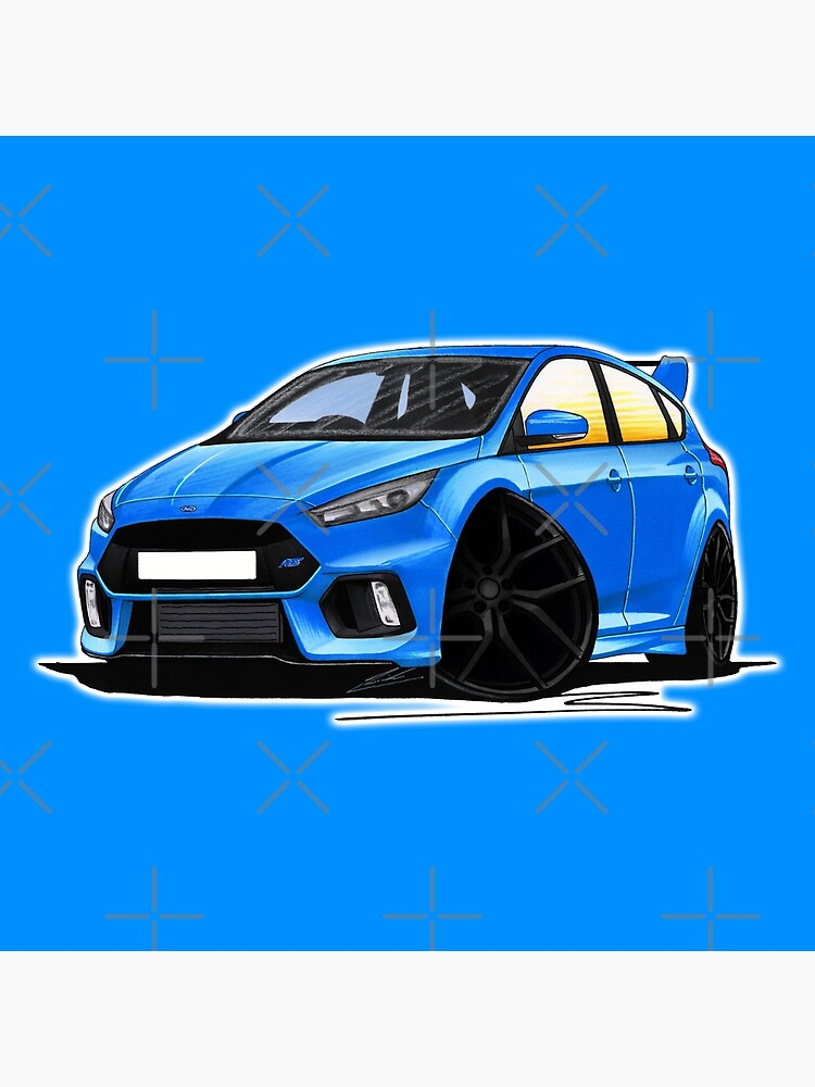 Ford Focus (Mk3) RS Blue by yeomanscarart