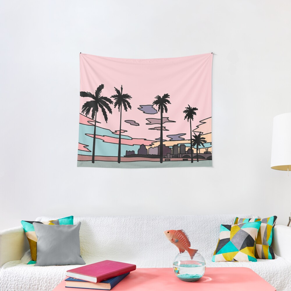 Florida sunset by Elebea Tapestry