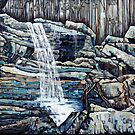 Waterfall Squared by Joselyn Holcombe