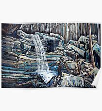 Waterfall Squared Poster