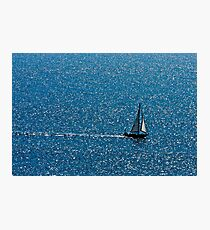Sea and Sail Photographic Print
