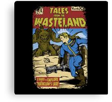 Tales from the Wasteland Canvas Print