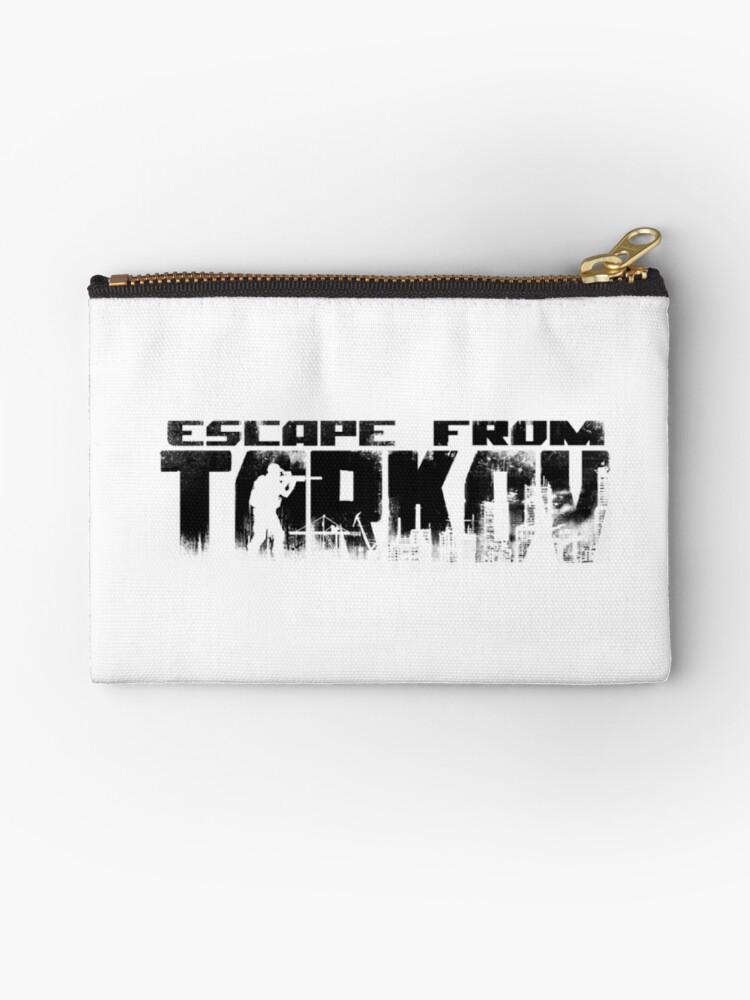 'ESCAPE FROM TARKOV' Zipper Pouch by GUCCIMANIA