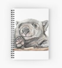 Lucy the Wombat Spiral Notebook