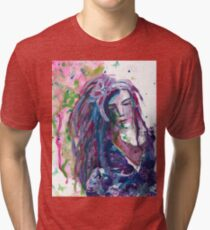 The Stranger - Inspired by Dina Wakley Tri-blend T-Shirt