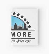 Baltimore Maryland Freaking Awesome Since 1796 Hardcover Journal