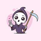 Kawaii Grim Reaper by zoljo