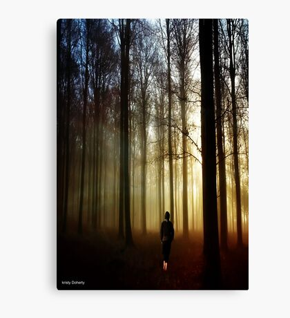 never felt so lonely Canvas Print