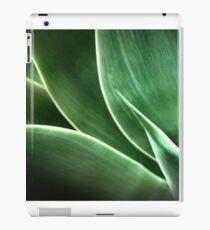 a succulent glow iPad Case/Skin