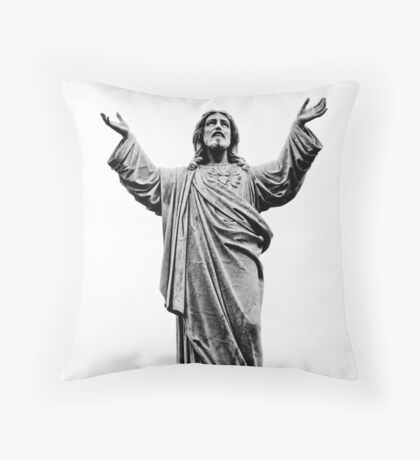 All Welcome Throw Pillow