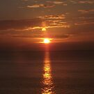 Sea Sunsets over Wales IIII by XtomJames