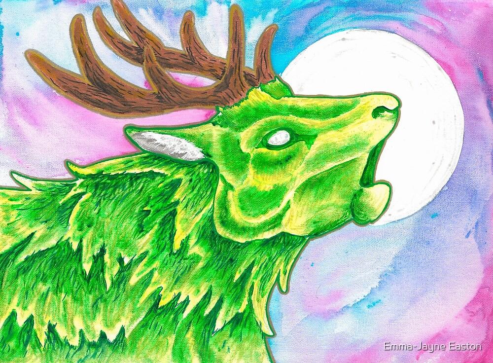 Earth Deer Spirit by Emma-Jayne Easton
