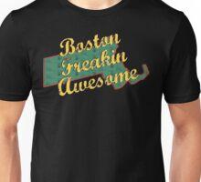 Boston Massachusetts Freaking Awesome Unisex T-Shirt