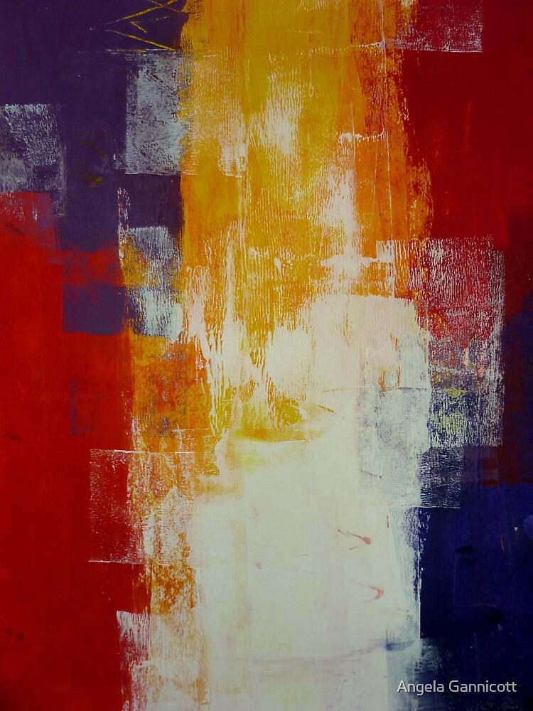 Acrylic Painting 1 by Angela Gannicott