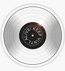 Vinyl Alive Sticker