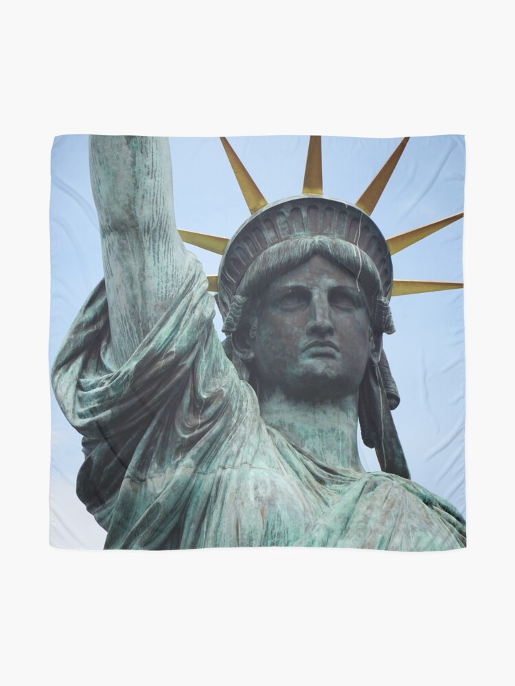 Alternate view of Statue of Liberty Scarf