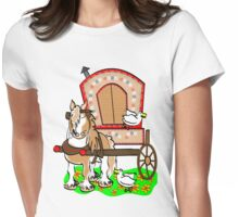 Gypsy Vanner T-shirt Womens Fitted T-Shirt