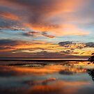 Sunset at the Lake by Jim Roche