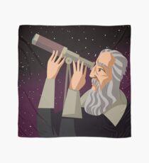 galileus watching the sky Scarf