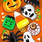 Halloween-gespenstische Süßigkeits-Party von BluedarkArt