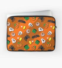 Halloween Spooky Candies Party Laptop Sleeve