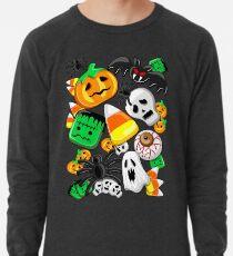 Halloween Spooky Candies Party Lightweight Sweatshirt