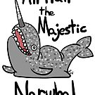 All hail the majestic Narwhal - 2015  by CorneliaT