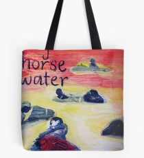 boy horse water Tote Bag