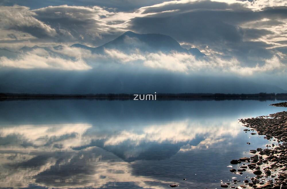 Waterton reflections by zumi