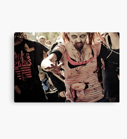 Just ... Run !!! Canvas Print