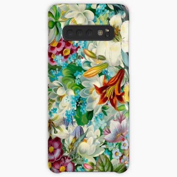 vintage floral Samsung Galaxy Snap Case