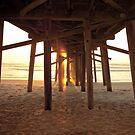 Under the Pier, Flagler Beach, FL by Lori Botelho