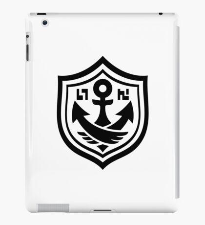 Splatoon Black Anchor iPad Case/Skin
