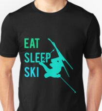 Eat Sleep Ski Unisex T-Shirt