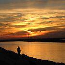 Sunset Walk by Gloria Abbey