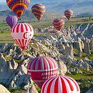 Hot Air Balloons by GuyWatson
