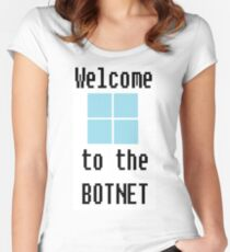 Welcome Women's Fitted Scoop T-Shirt