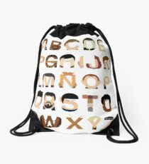 Star Trek Alphabet Drawstring Bag
