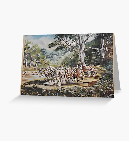 The Outback II Greeting Card