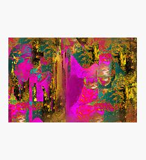 Tapestry Heart Photographic Print