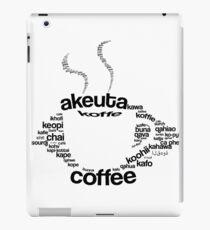 Coffee regular iPad Case/Skin