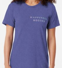 Happiness Begins Jonas Brothers Tri-blend T-Shirt