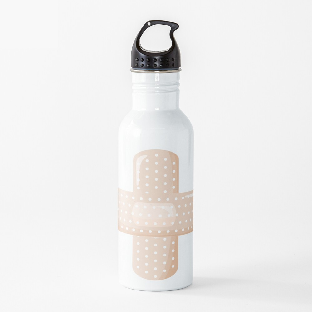 First Aid Plaster Water Bottle