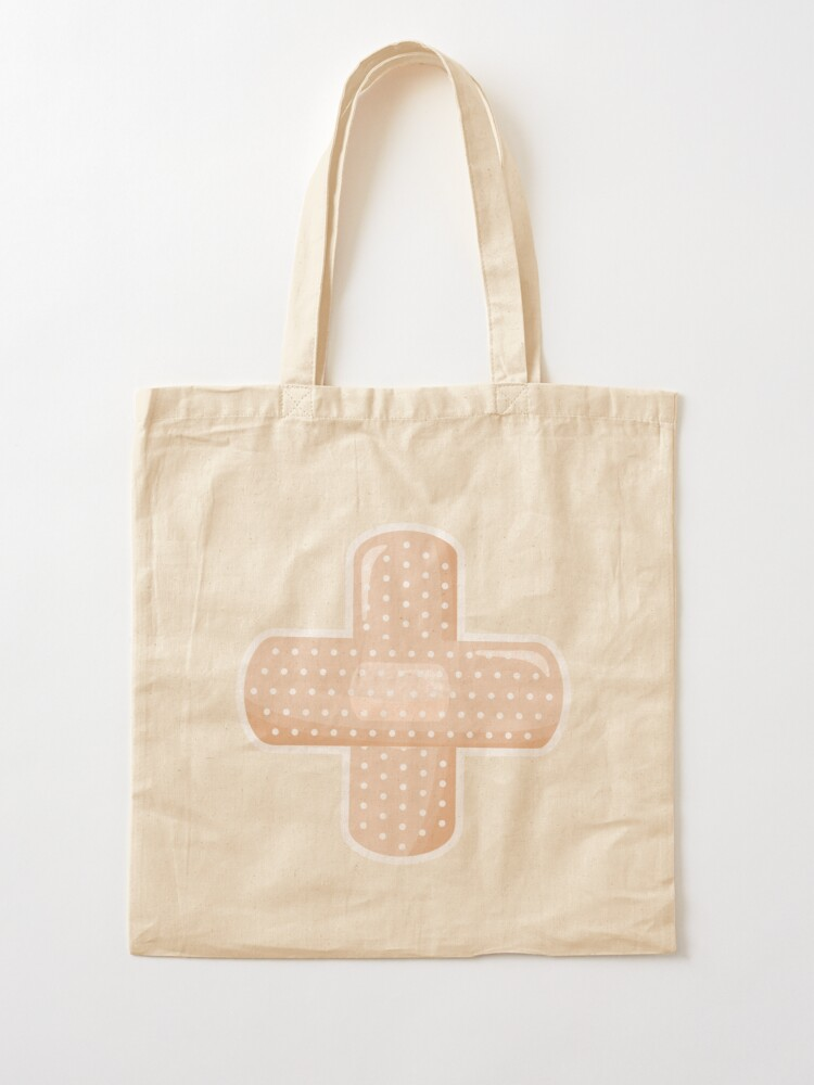 Alternate view of First Aid Plaster Tote Bag